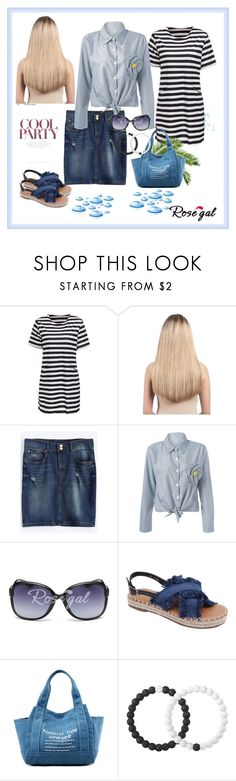 """""""Cool Party /Rosegal 36"""" by rose-99 ❤ liked on Polyvore featuring Extension Professional and Lokai"""