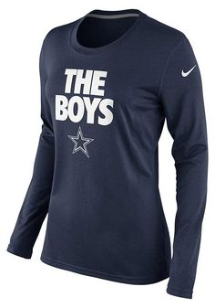 e5cbc79df Dallas Cowboys Women's Nike Long Sleeve