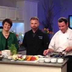 John Swain & @chefberridge1 cooked up a storm on @ctvatlantic to prep for Cooking for Cancer next week.  #ns #novascotia #canada #novascotiaeats #fundraiser #halifaxnoise #explorecanada