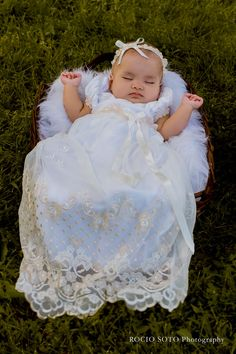 Rocio Soto Photography | Gwen Christening Gown | Christening Gowns Blog More