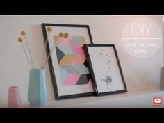 Anna is creating collage art for the wall, and in this DIY video, you can learn how to make it yourself. It is easy and fun to do this craft, and the end pro...