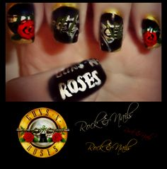 ‎[Guns N' Roses Logo]    Done whilst listening to: [Guns N' Roses - Paradise City] | https://www.youtube.com/watch?v=Rbm6GXllBiw — at Rock & Nails