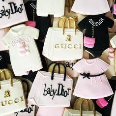 Gucci Gucci Goo! Designer baby cookies... - Oh, Sugar! Events