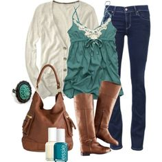 fall-and-winter-outfits-2016-54 79 Elegant Fall & Winter Outfit Ideas 2017