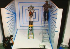 """HGTV's """"The White Room Challenge,"""" with hosts David Bromstad and Jamie Durie."""
