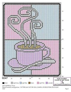 HOT COFFEE by TRICIA - WALL HANGING