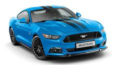 Mustang 2017 Blue edition