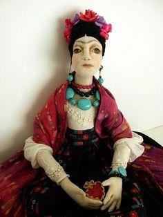 Dream and Play: Frida Kahlo Doll