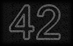 42, meaning of life, douglas adams, hitchhiker's guide to the galaxy