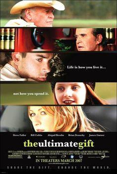 El último regalo. 2006 Drew Fuller, James Garner, Abigail Breslin, Brian Dennehy, Ali Hillis, Bill Cobbs