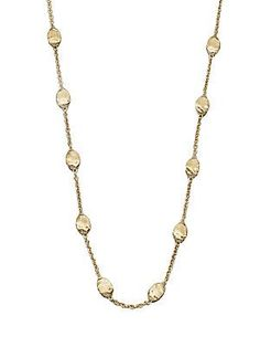 Marco Bicego Siviglia 18K Yellow Gold Station Necklace - Gold