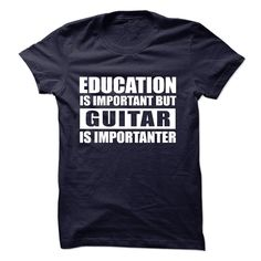 Guitar is importanter