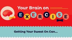 This Is What Happens to Your Brain When You Exercise - Exercise prevents some of the major cognitive disorders developing. According to research cited in the infographic, it can help prevent and treat dementia, Alzheimers and brain aging. It can also lower stress and help you deal better with anxiety and depression. The science bit exercise boosts levels of brain-derived neutrotrophic factor (BDHF) which maintains and regenerates adult nerve cells.