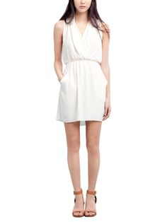 Skinny belt and cute sandals would make this dress!!! Love it!