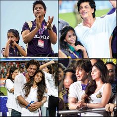 Suhana and papa, old pix - for KKR