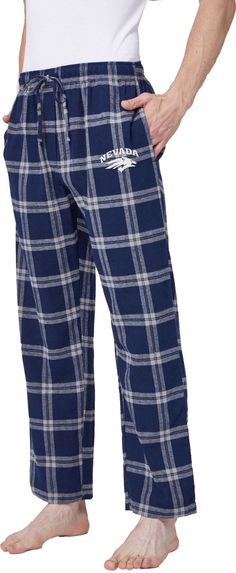 23c6b58186 Concepts Sport Men s Nevada Wolf Pack Blue White Homestretch Sleep Pants