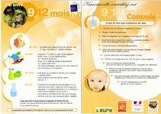 L'alimentation de bébé : 9 - 12 mois