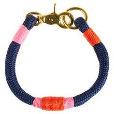 Hudson Dog Collar Navy Sorbet