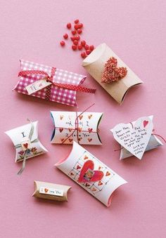 Affection-filled Valentines Day Craft Sweet Packages
