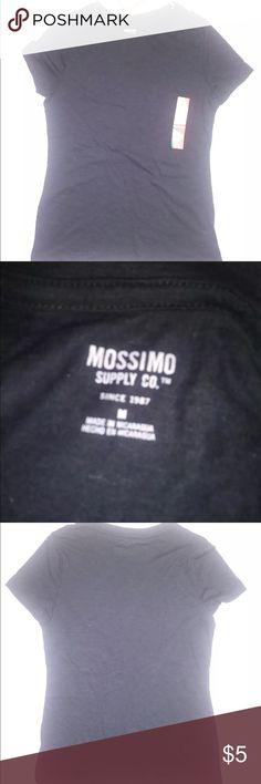Mossimo supply Short sleeve black t shirt size M Mossimo supply co. Short sleeve black t shirt size M Mossimo Supply Co Tops Tees - Short Sleeve
