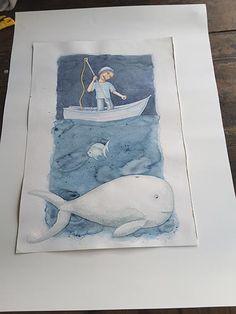 José Torres  Ilustrador: La Ballena y el Pescador