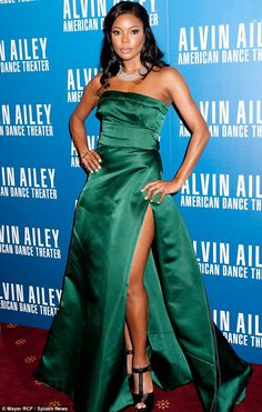 Gabrielle Union - At the Alvin Ailey 2013 Opening Night Gala held at the New York City Center.  (December 2013)