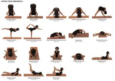 Yoga Poses (Asana) Hattha Sequence 4