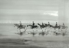 Brouillard deauvillais by Hubert De Watrigant