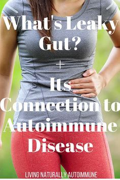 Research is starting to direct attention towards the health of your gut and how it relates to autoimmune disease. A condition called leaky gut has been linked to many autoimmune conditions such as celiac disease, multiple sclerosis, lupus, Crohn's disease and many others. The intestine is lined with single layer of cells that allow the transport of small molecules (vitamins, minerals) into the bloodstream to be used by the body. When this layer of cells is inflamed or damaged, larger mo...