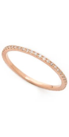 EF Collection Diamond Eternity Stack Ring | SHOPBOP