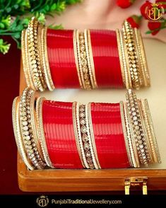 The most crucial element of your wedding day. Make sure you choose from the best. The most crucial element of your wedding day. Make sure you choose from the best of best. Wedding Chura, Sikh Wedding, Wedding Day, Bridal Bangles, Wedding Jewelry, Chuda Bangles, Punjabi Traditional Jewellery, Couple Wedding Dress, Bridal Chuda