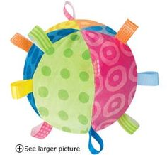 """Taggie Colors Collection 7"""" Diameter Ball"""