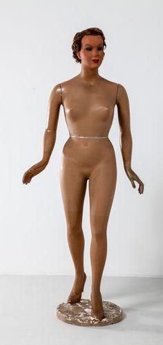 1930's Mannequin signed by Siegel Paris image 2