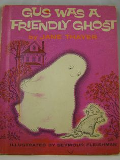 Gus was a Friendly Ghost vintage children's book by innerchildbooks