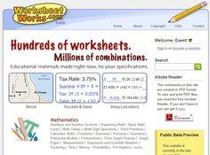 """Játékos tanulás és kreativitás: Weboldal ajánló: Feladatgenerálók """"mindenhez"""""""