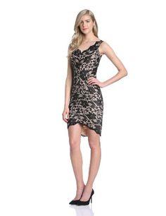 9e3840f2744cc1 Hybrid Women s Napoli Lace Sleeveless Body Con Dress