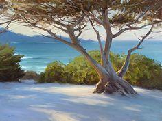 Carmel Classic by Jesse Powell Oil ~ 36 x 48