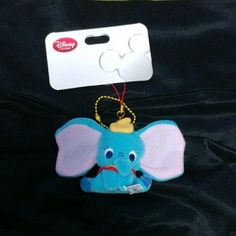 Disney photos of the items (Disney) new tagged Dumbo strap smartphone / consumer electronics / camera smartphone accessories of the (straps / earphone jack)