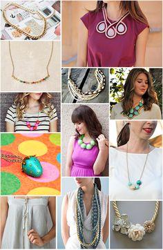 Dazzling DIY Necklaces