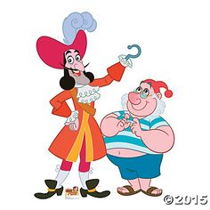 Captain Hook & Mr. Smee Stand-Up