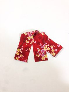 Red Blossoms and White Snowflakes by Chizuko Takahashi on Etsy