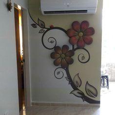Mural entre baño y habitacion Ivana