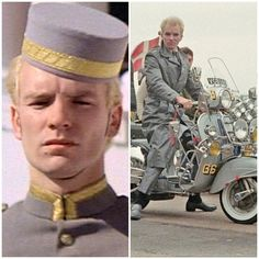 Sting in the 1979 film Quadrophenia - changing identity from bellboy to leading mod in Brighton
