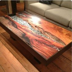 Table made by massif wood