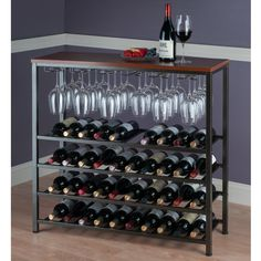 Darby Home Co Gillam 40 Bottle Wine Rack