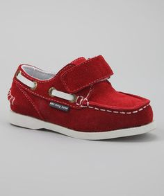 Take a look at this Ten Tiny Toes Footwear Red & White Spinaker Boat Shoe on zulily today! Cute Outfits For Kids, Cute Kids, Nina Shoes, Little Man, Baby Gear, Well Dressed, Boat Shoes, Red And White, Baby Boy