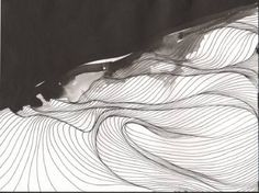 """Saatchi Art Artist Tracie Cheng; Drawing, """"Storms #2 [sold]"""" #art"""
