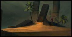 Oasis by Topi Pajunen Matte Painting, Art Portfolio, Oasis, Digital Art, Photoshop, Illustration, 2d, Image, Paintings