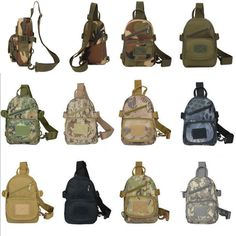 Military Tactical Pouch Camouflage Multi-functional Outdoor Leisure Shoulder Bag