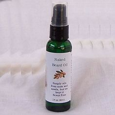 Très Spa Naked Beard Oil, Men's Grooming with Organic Argan oil, Scent Free (2oz) - http://essential-organic.com/tres-spa-naked-beard-oil-mens-grooming-with-organic-argan-oil-scent-free-2oz/